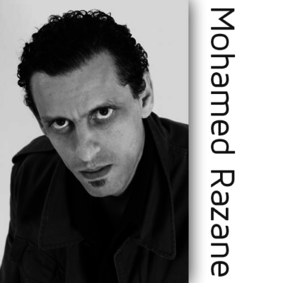 Mohamed Razane was born in 1968 in Casablanca, Morroco. He lives in Seine Saint Denis since the age of 9. Actor, play writer, theater director, he works as a social worker in the outskirts of Paris.